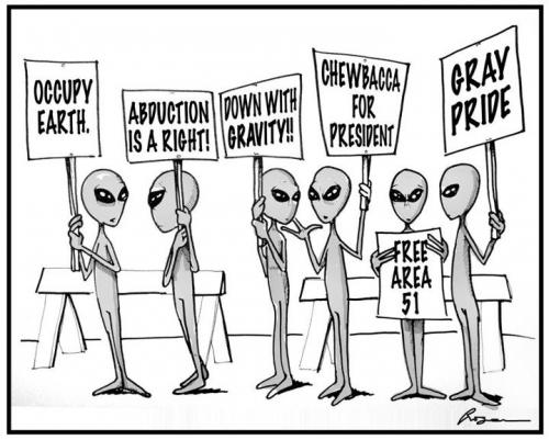 Alien Satire: Occupy Earth