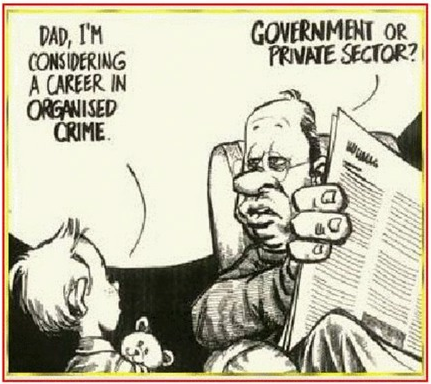 Satire: Organized Crime
