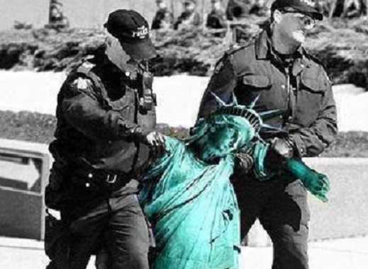 Lady Liberty: Under Arrest