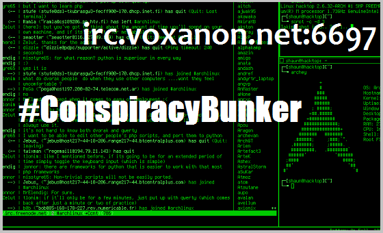 Click to Chat with Decrypted Matrix | irc.VoxAnon.net - #ConspiracyBunker