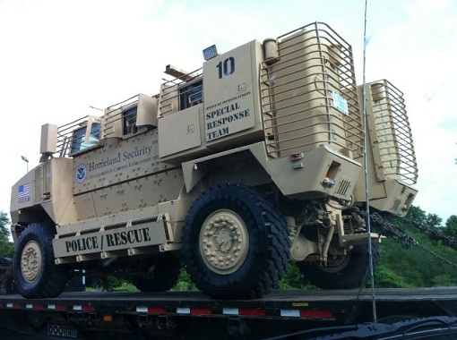 Special Response Team: Coming To A Neighborhood Near you, by Homeland Security