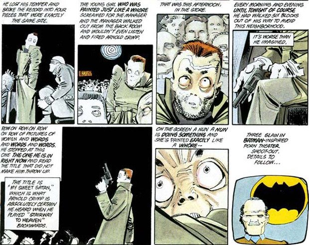 "Batman Shooting Foretold In 1986 ""Dark Knight"" Comic"