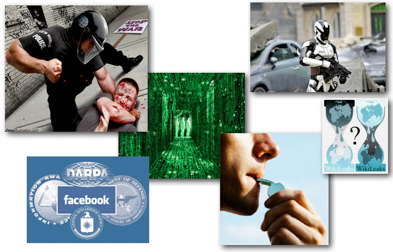 August 17, 2012 – DCMX Radio: Anything Goes Friday: Wildcard News Highlights, The Matrix of Deception, DARPA-Bots, Whistleblowing, Police State to Martial Law