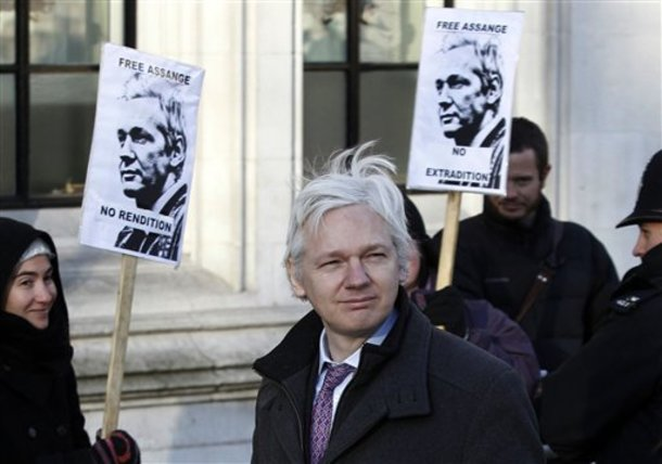 ASYLUM GRANTED: Ecuador Gives Political Asylum to Julian Assange