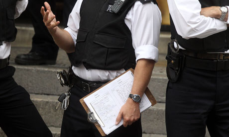 Accidental Leak: UK Policeman's Clipboard Reveals Julian Assange Arrest Tactics