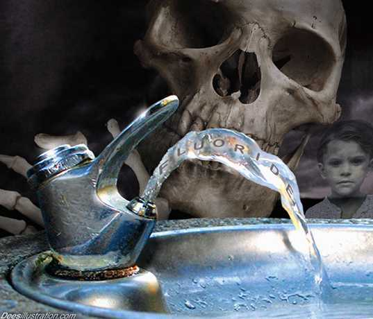 Nearly All Conventional Food Crops Grown With Fluoride-Laced Water, Then Sprayed With More Fluoride