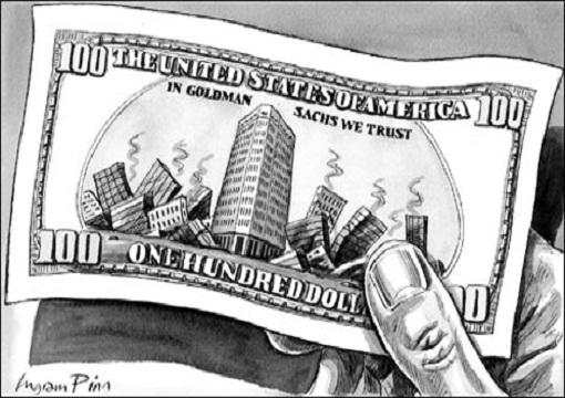 Goldman Sachs Bribed Senate To Pass Bailout Bill