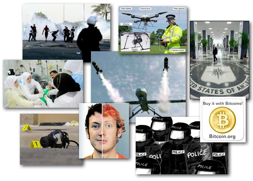 October 1, 2012 – DCMX Radio: Bahrain Medics Get Jailtime, CIA's Drone Killings, James Holmes Update, Bitcoin Digi-Currency