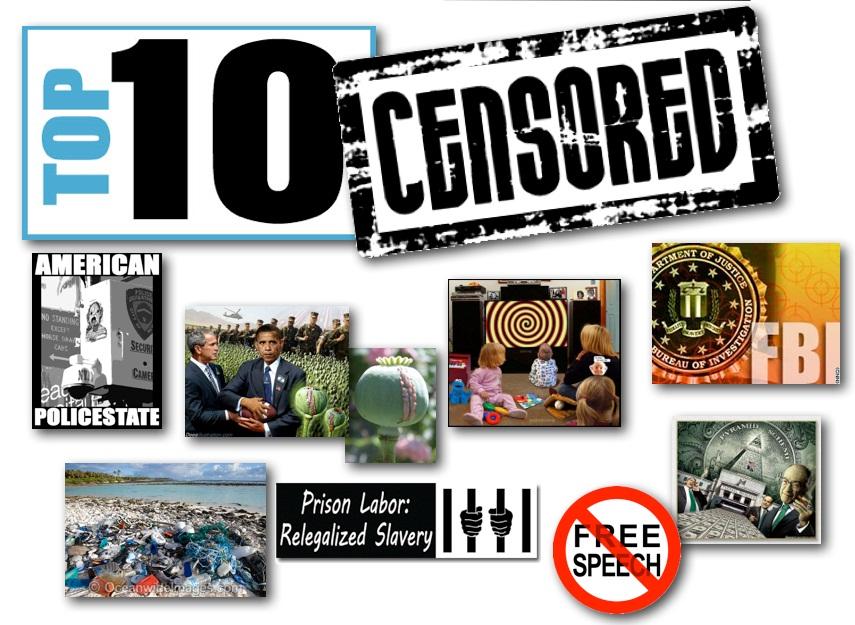 October 18, 2012 – DCMX Radio:  Top 10 Censored, Underreported News of 2012