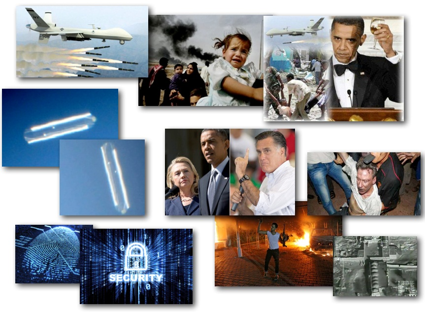 October 26, 2012 – DCMX Radio: More Benghazi Cover-Up, Civilian Drone Deaths, Executive 'Cyber' Order, Massive Cylinder UFO on Film