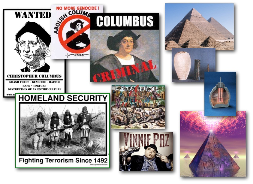 October 8, 2012 – DCMX Radio: Columbus Day Special – Fraud Holiday, Pyramid Discoveries, Virtual ID for EU, Vinny Paz Activist HipHop