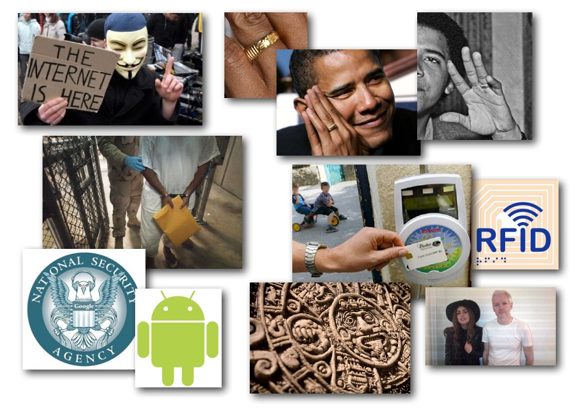 October 9, 2012 – DCMX Radio: Obama's Gold 'Allah' Ring, Gaga Visits Assange, Torture Victims Silenced, NSA's New Android OS