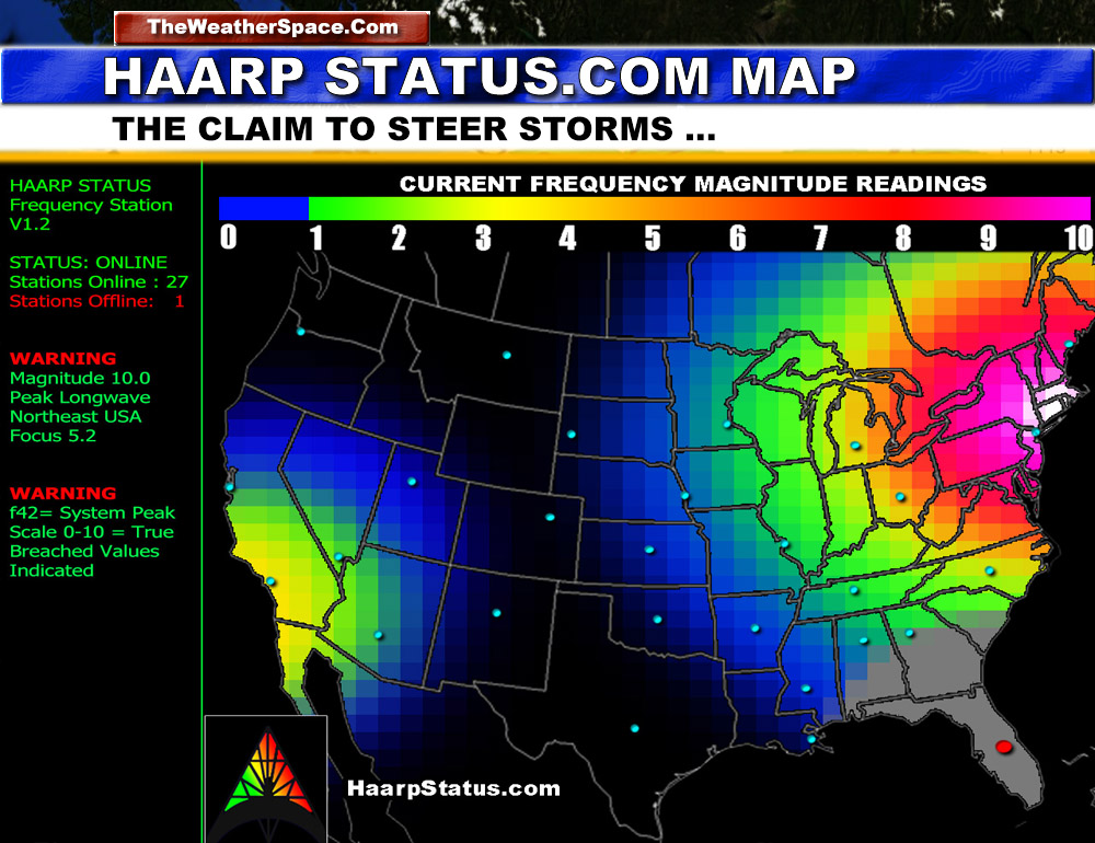 Could Hurricane Sandy be Weather Modification at Work?