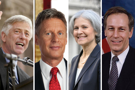 Third-party Candidates Spar in US Debate