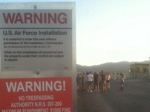 Area 51: BBC Film Crew Arrested At Gunpoint