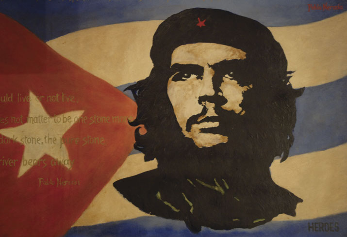 Che Guevara Remembered in Palestine