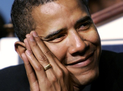 BREAKING: Obama's Islamic Faith Confirmed by Gold Ring With Inscription 'There is no god but Allah'