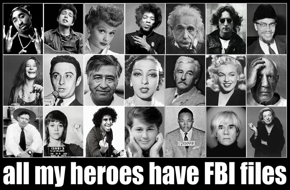 All My Heros Have FBI Files