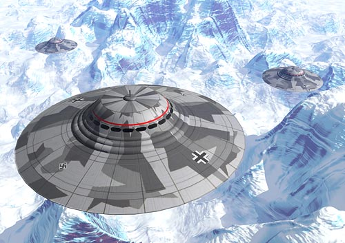 UFO War Being Waged in Antarctica, Claims Scientist