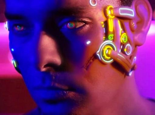 TRUE SKIN: Transhumanism Cyborg Virtual Augmented Reality Short Film