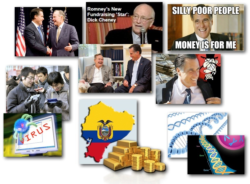 November 2, 2012 – DCMX Radio: Romney Exposed, HAARP Hurricane, GMO Jumping Genes, Japanese Android Hackers, Ecuador Gold Audit