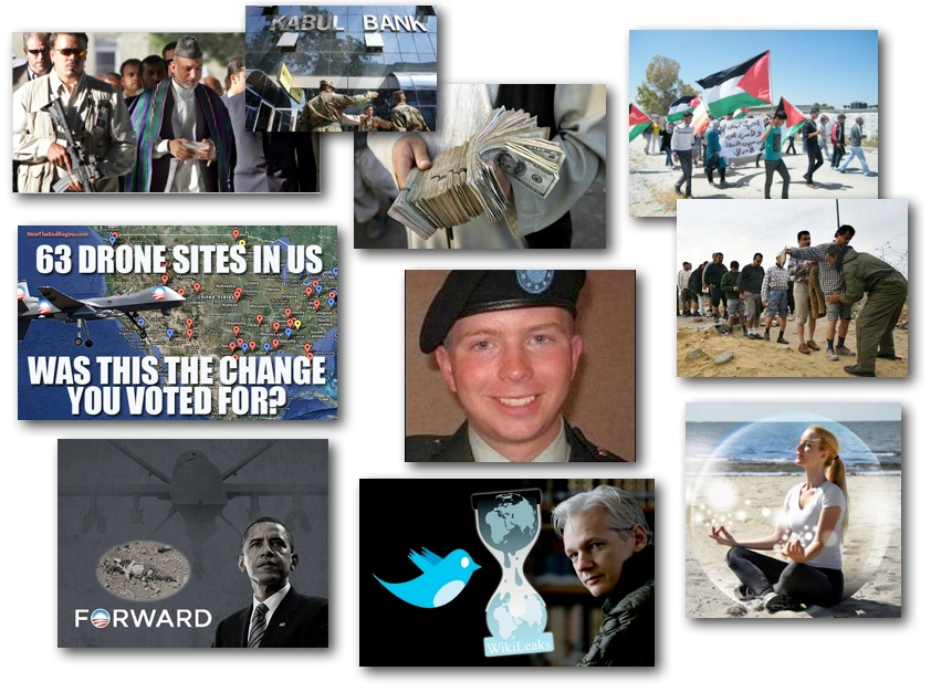 November 7, 2012 – DCMX Radio: Corruption in Afghanistan, Obama's Drones, Wikileaks Grand Jury, Gazan Prisoners, Rejecting the Police State & Negativity