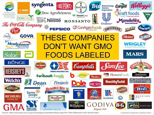 INFOGRAPHIC: Corporations Lobbying Against GMO Labeling