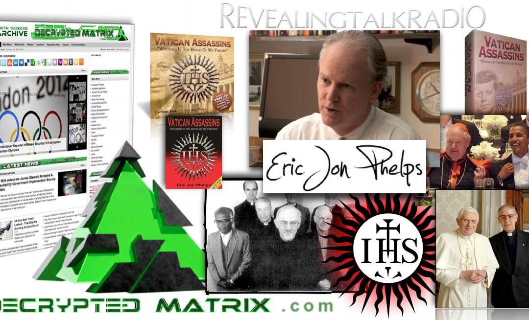 November 5, 2012 – DCMX Radio: Eric Jon Phelps on the Jesuits Part I (Exclusive)