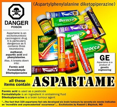 Aspartame: Linked to Leukemia and Lymphoma in New Landmark Study on Humans