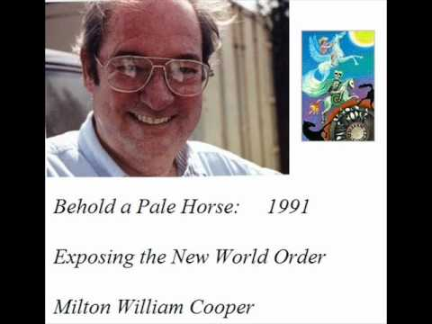 "William Cooper's ""Behold A Pale Horse"" Book Foretold Schoolyard Shootings"