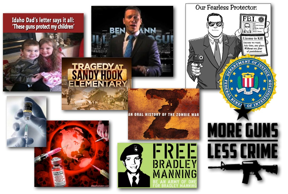 January 11, 2013 – Decrypted Matrix Radio: 'These Guns Protect My Children', FBI Crime Stats, Obama's Secret Service Protection Extension, Sandy Hook Cover-Up Reminders, Quick Headlines