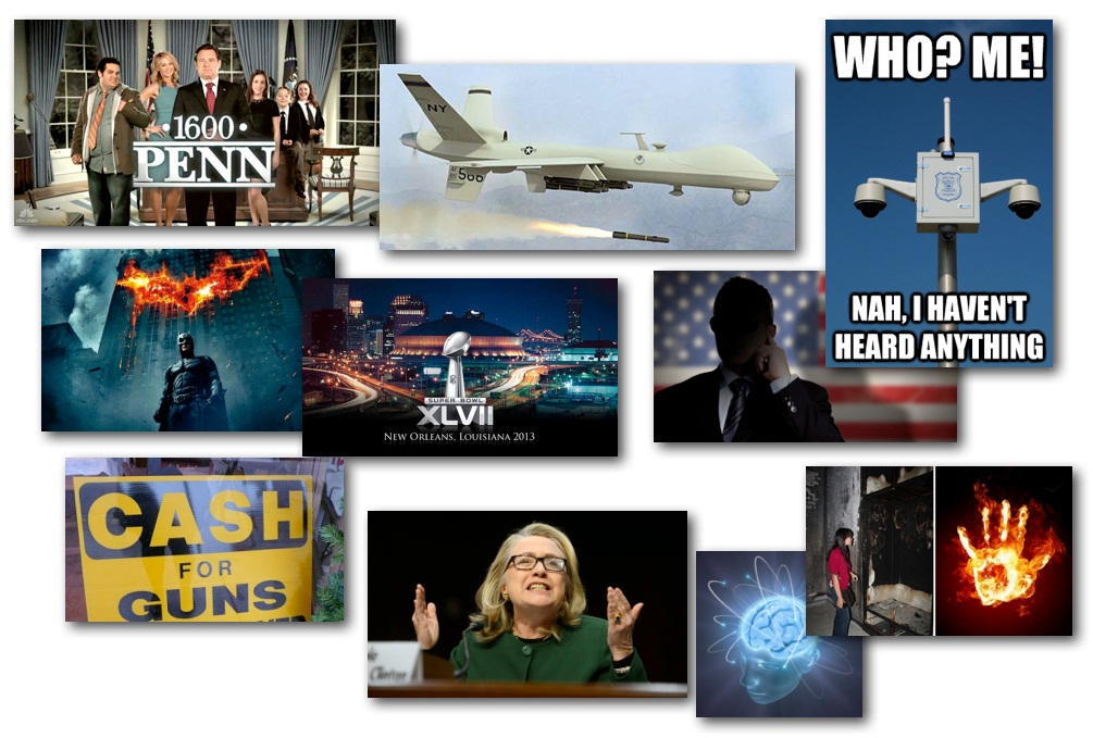 January 29, 2013 – Decrypted Matrix Radio: Conspriacy Facts, Drone Jokes, Clinton's Benghazi-Gate, Gunshot Detection, Gun Buy-Back Backfire, Psychic Kids