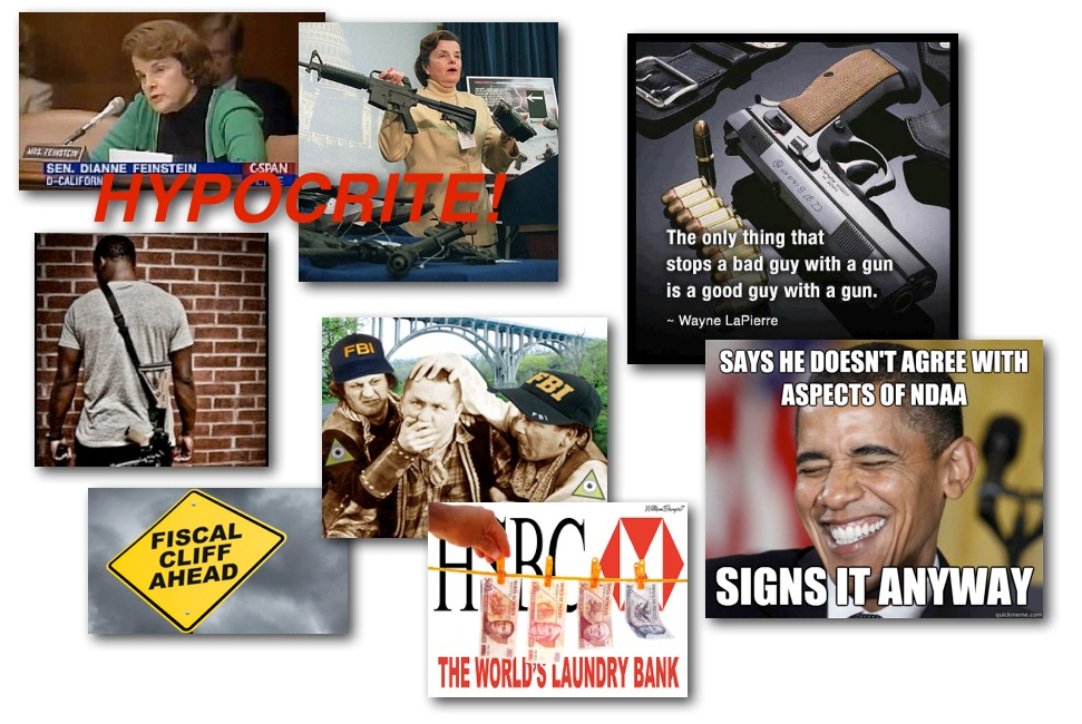 January 3, 2013 – Decrypted Matrix Radio: Feinstein Gun Control Hypocrite, NDAA Signed, FBI vs. OWS vs. Bankers, Fiscal Cliff Simplified
