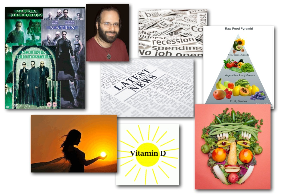 January 31, 2013 – Decrypted Matrix Radio: What is THE MATRIX, Benefits of a Raw Foods Diet, The Sun as an Essential Element