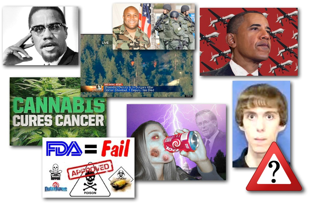 February 12, 2013 – Decrypted Matrix Radio: Remembering MalcomX, Chris Dorner Dead, Adam Lanza WHO, Cannabis Cancer, Aspartame History, Obama Killing With Drones