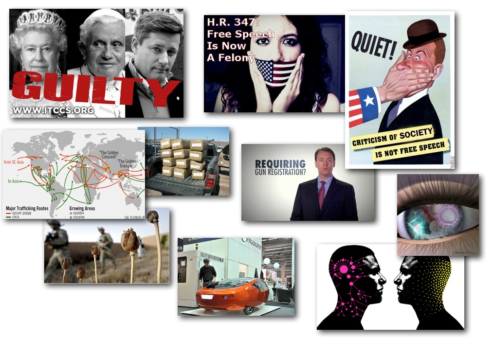 February 27, 2013 – Decrypted Matrix Radio: Pope & Queen GUILTY, Drug Routes, 3D Printed Car, NRA Outs Gun Grab, Science of Self