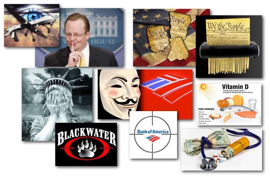 February 25, 2013 – Decrypted Matrix Radio: Whithouse Drone Denials, DoJ Protecting Blackwater, Gun Control Boycots, Anonymous Hax'd BoA, Health Tips