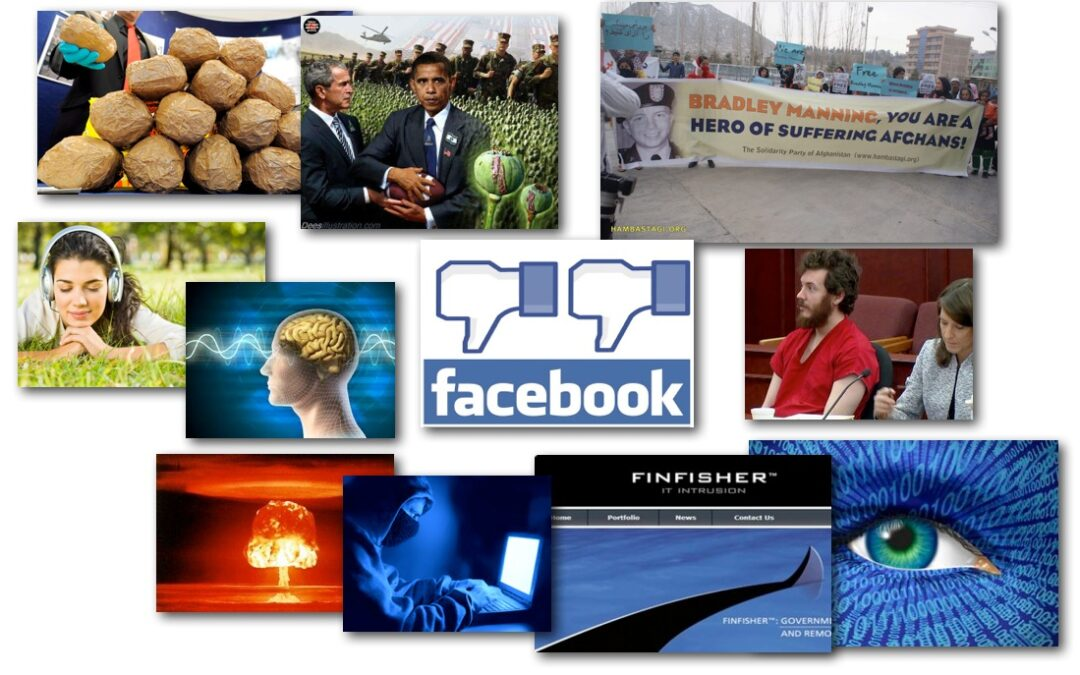 March 13, 2013 – Decrypted Matrix Radio: Afghan Opium, Facebook Gets Creepy, FinSpy Software, DHS CyberNukes, Music Heals