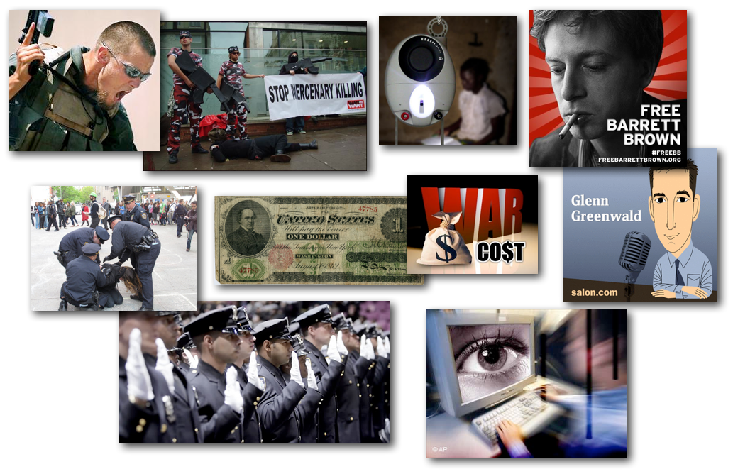 March 21, 2013 – Decrypted Matrix Radio: Private Mercenary Armies, Barrett Brown's Persecution, The Surveillance Internet, Civil War Reparations, Illegal Quotas, The Gravity Light LED