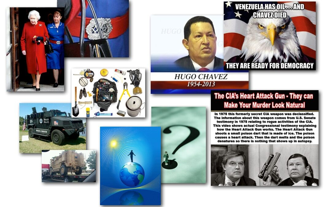 March 5, 2013 – Decrypted Matrix Radio: Chavez Cancer Attack, Queen's Mason Nurse, Elites Hiding, Survival Tips
