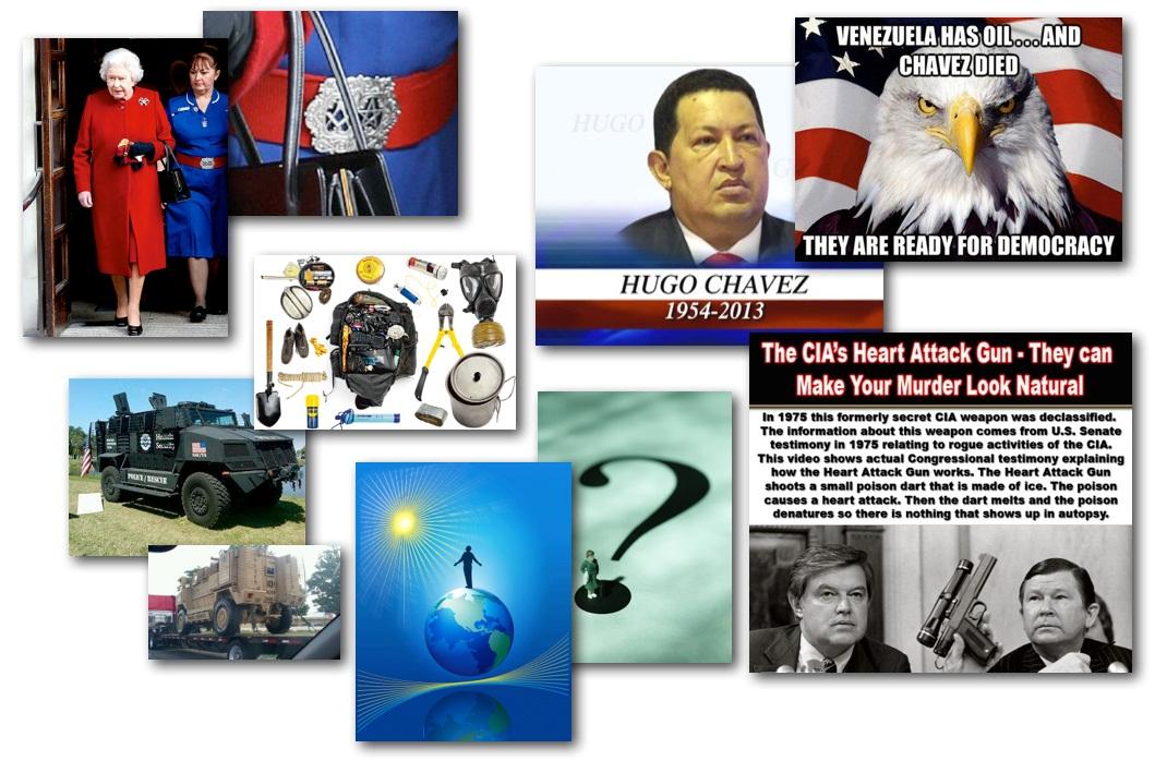 March 5, 2013 – Decrypted Matrix Radio: Chavez Cancer Attack, Queen's Mason Nurse, Elites Hiding, Survival Tips