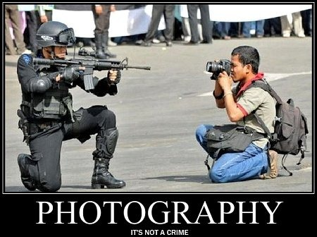 Homeland Security and FBI Release Document Once Again Labeling Photographers as Potential Terrorists
