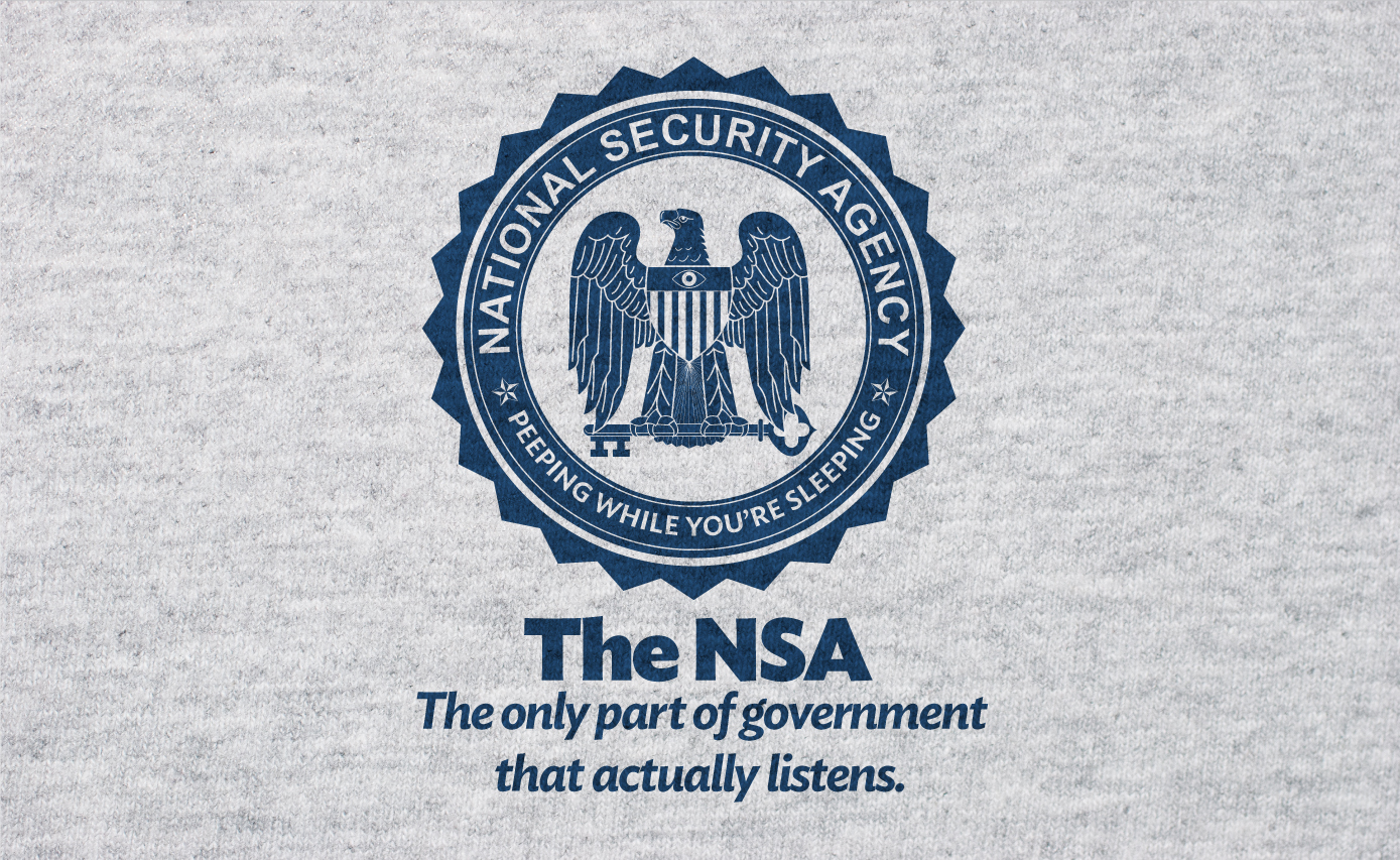 CENSORED: Nothing Better to Do – The NSA Goes After Parody T-Shirts