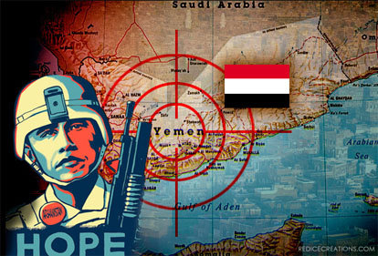 U.S. Forces, Intelligence Agents and American Security Agents (MERCs) clandestine war in Yemen