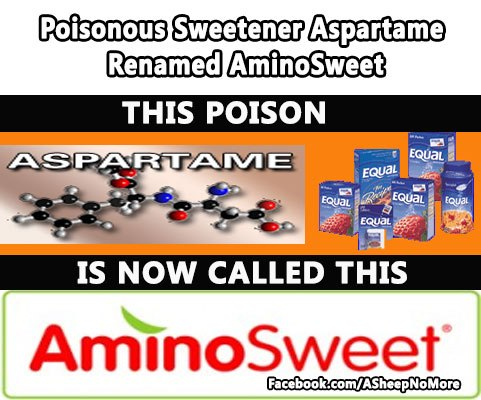 Be Advised! Aspartame Changed its Name to AminoSweet