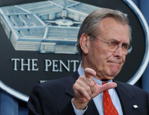 Rumsfeld Documentary Reveals What an Unaccountable Slippery Bastard He Is
