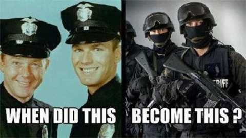 11 Shocking Facts About America's Militarized Police Forces