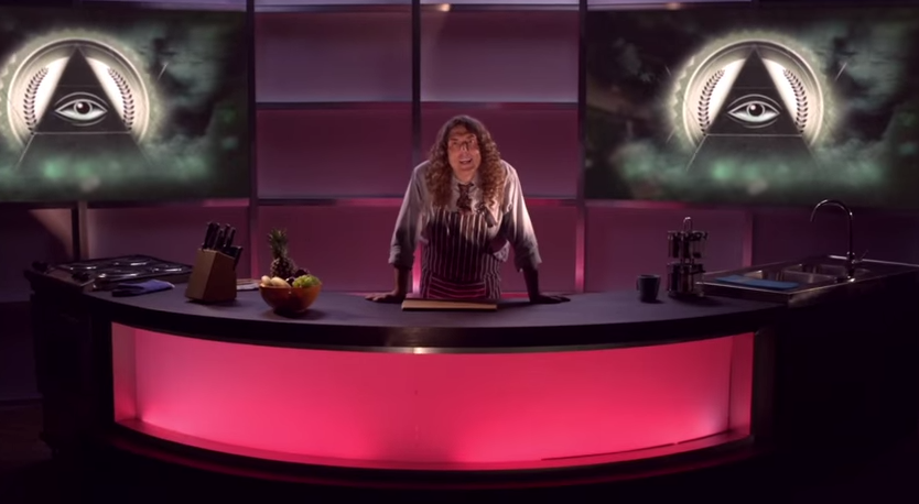 Weird Al Yankovic Calls out 'The Illuminati' & NWO in Latest Music Video