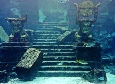 Lake Titicaca Underwater Temple