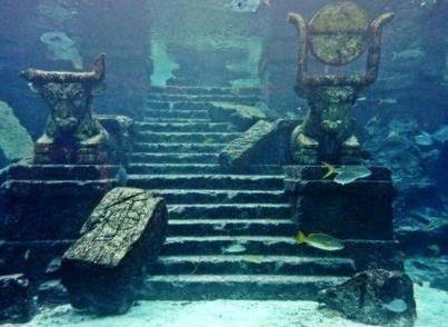 Lake Titicaca Underwater Temple